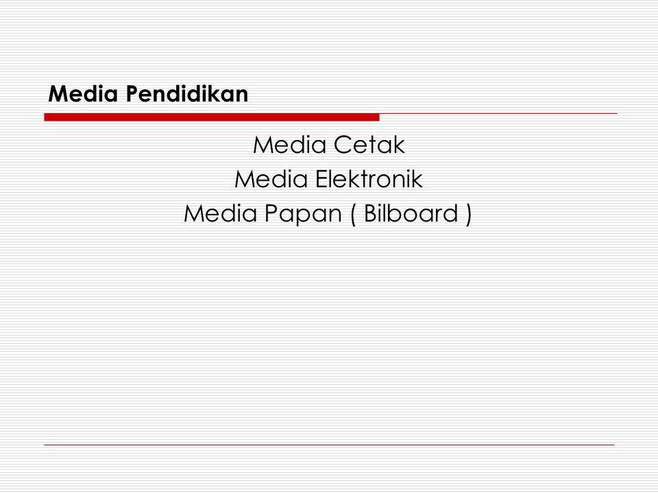 Media Papan ( Bilboard )