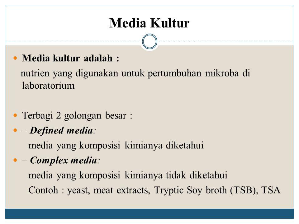 Media Kultur Media kultur adalah :