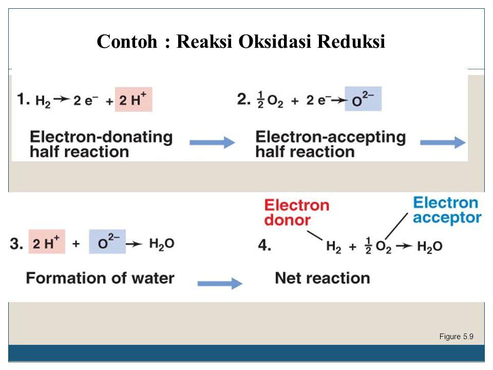 Contoh : Reaksi Oksidasi Reduksi