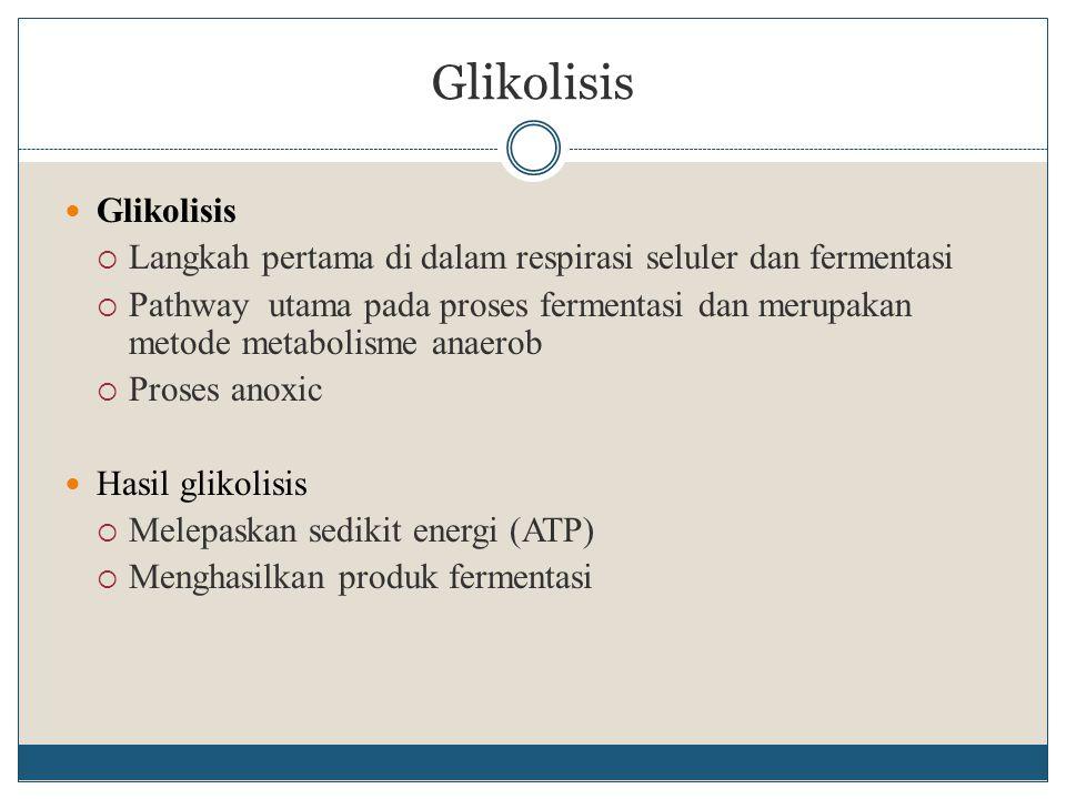 Glikolisis Glikolisis