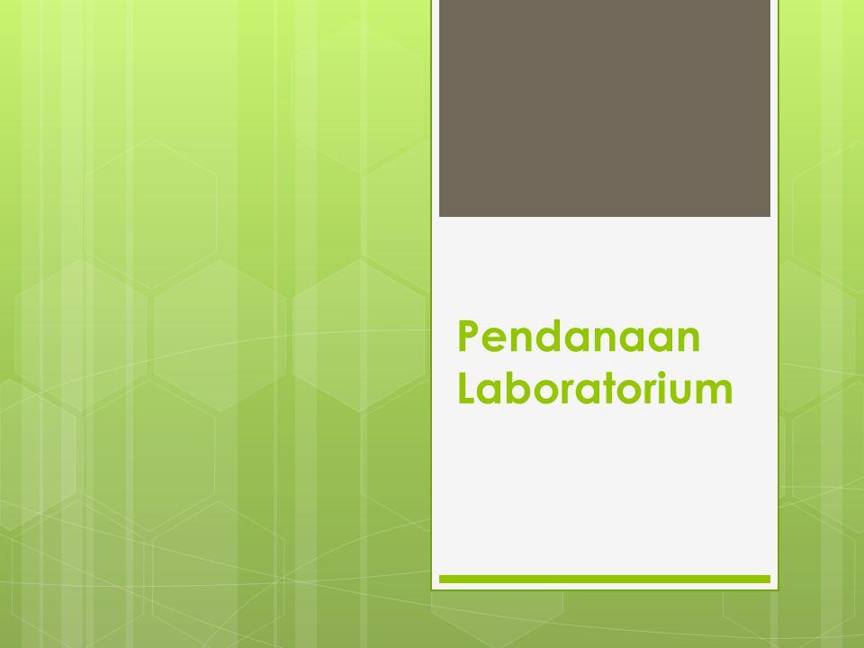 Pendanaan Laboratorium