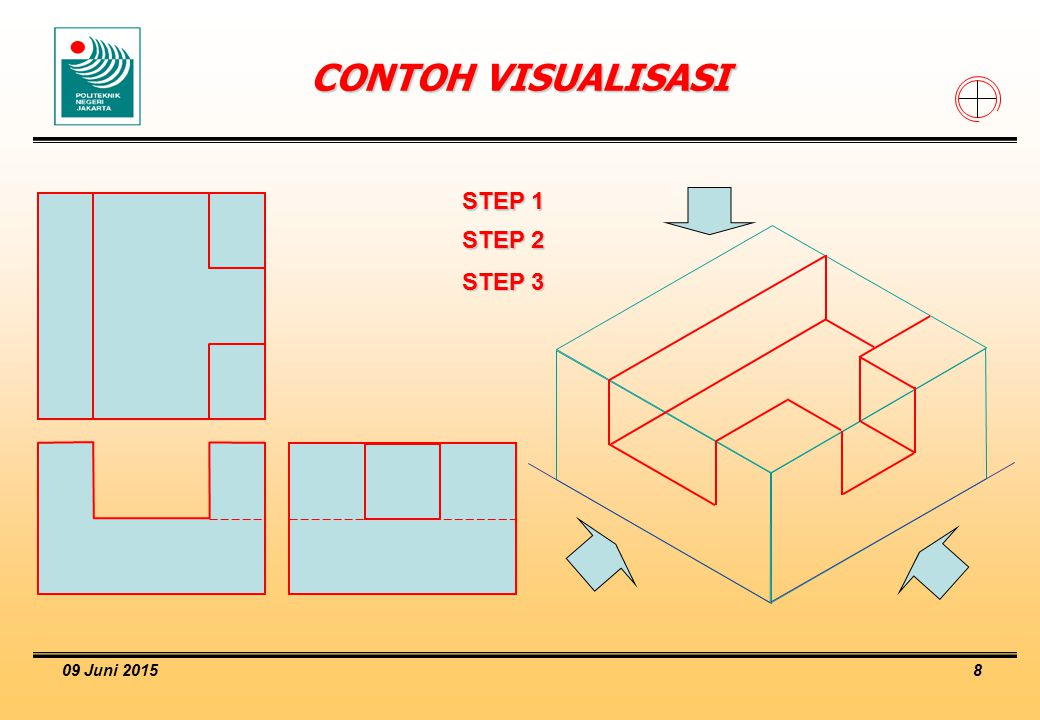 CONTOH VISUALISASI STEP 1 STEP 2 STEP 3 16 April 2017