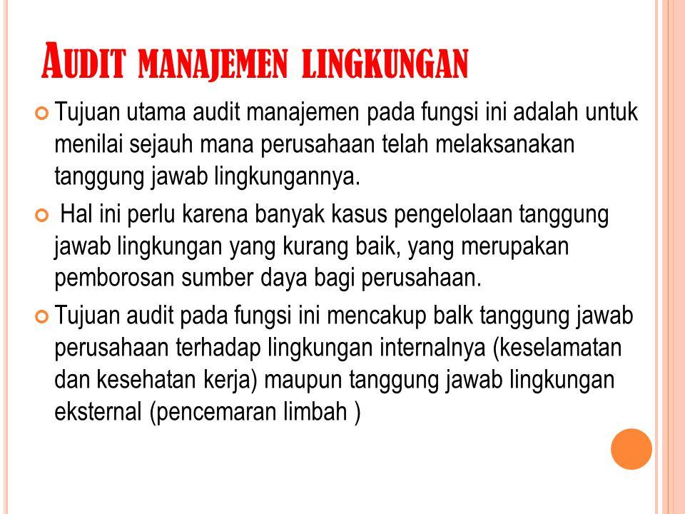 Audit manajemen lingkungan
