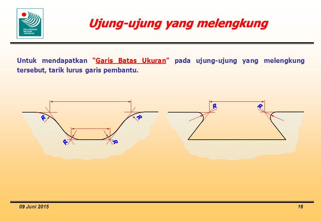 Ujung-ujung yang melengkung