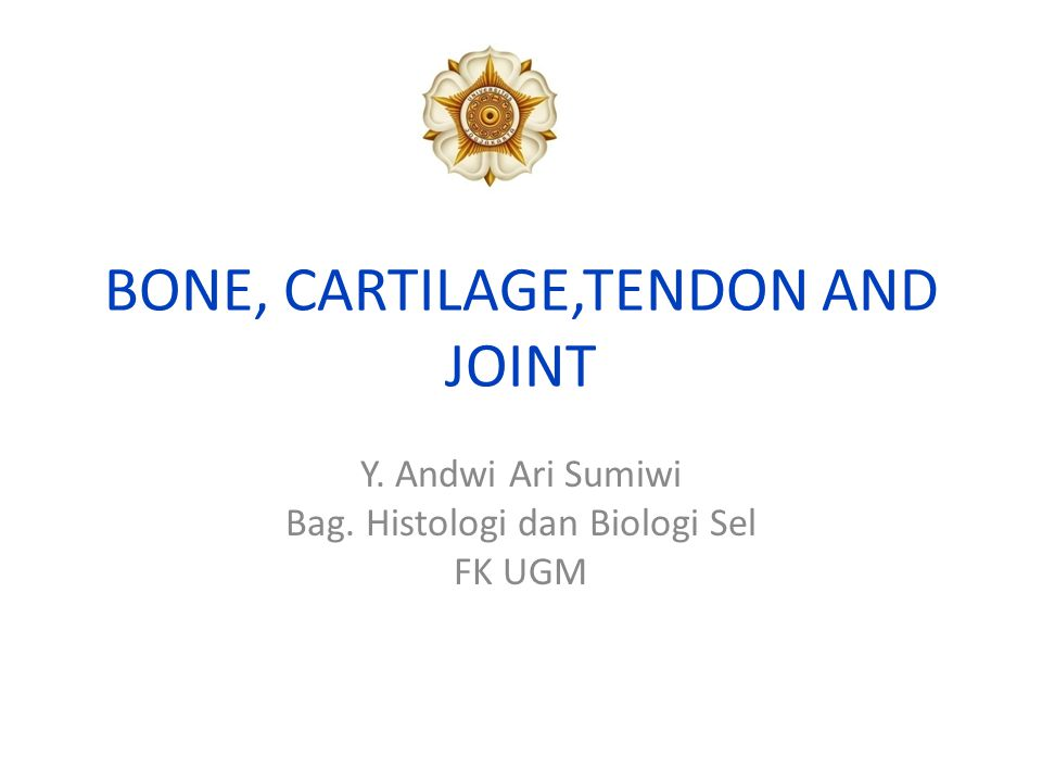 BONE, CARTILAGE,TENDON AND JOINT