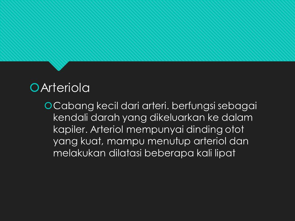 Arteriola