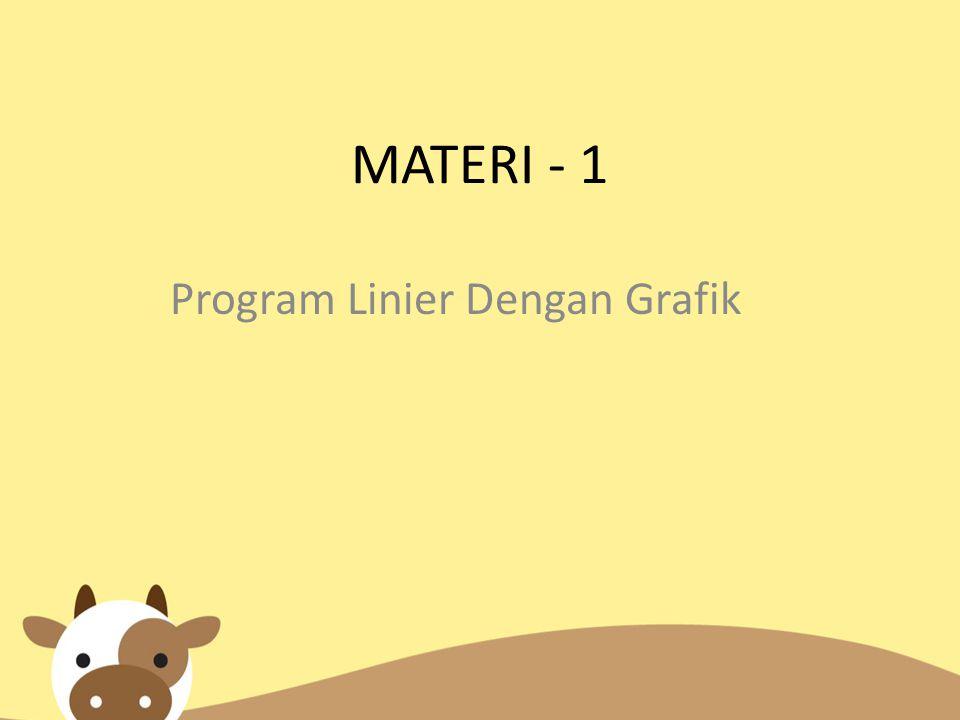 Program Linier Dengan Grafik