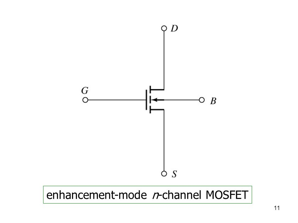 enhancement-mode n-channel MOSFET