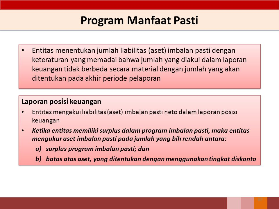 Program Manfaat Pasti