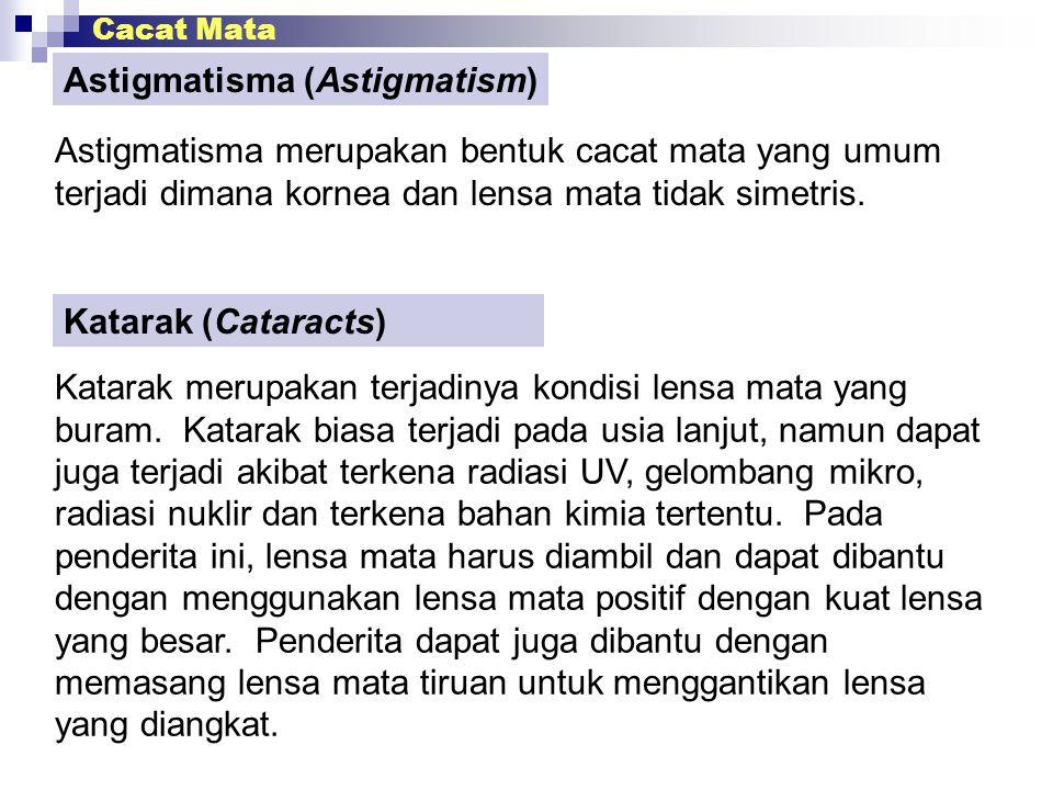 Astigmatisma (Astigmatism)