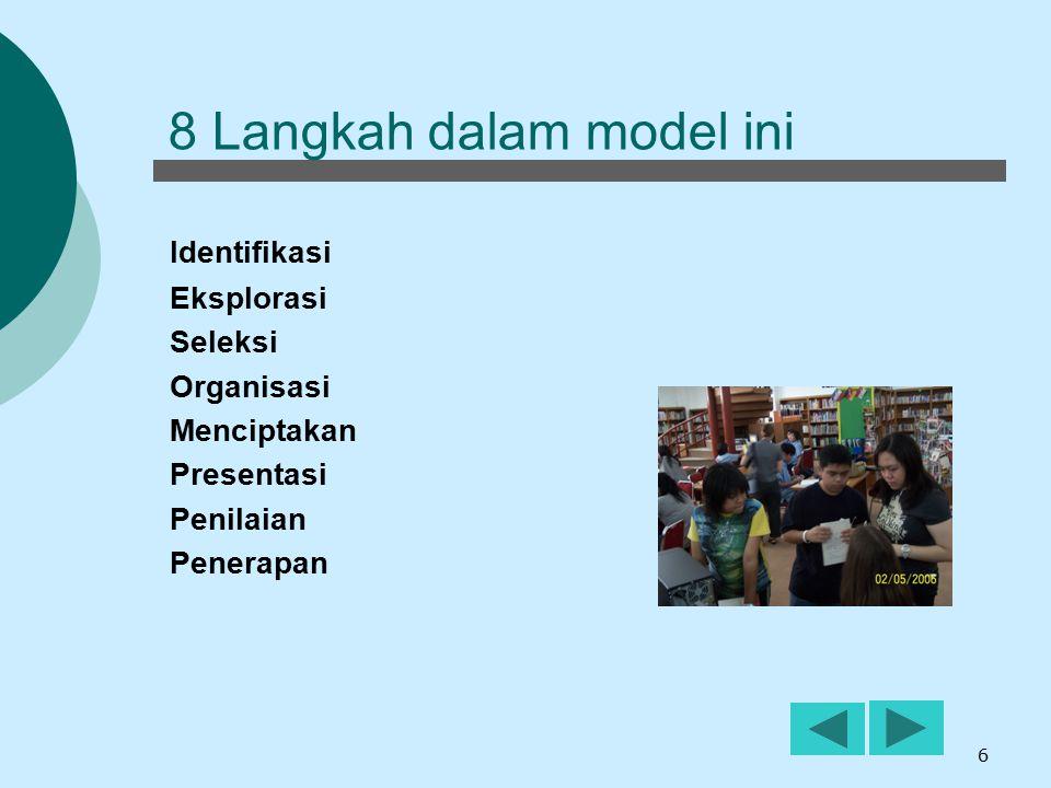 8 Langkah dalam model ini