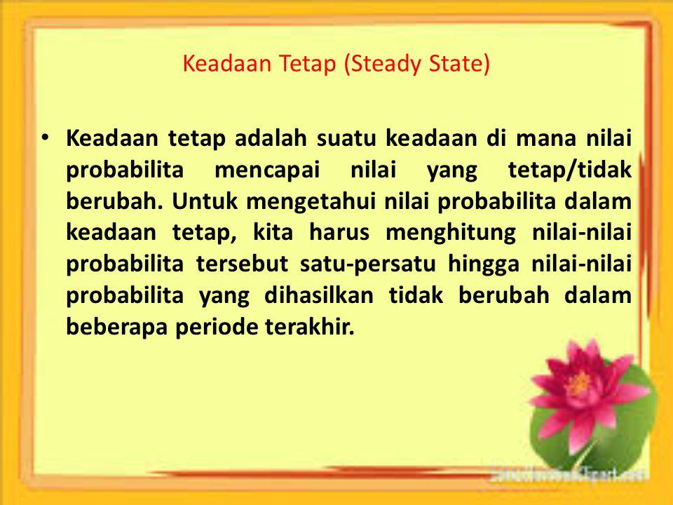 Keadaan Tetap (Steady State)