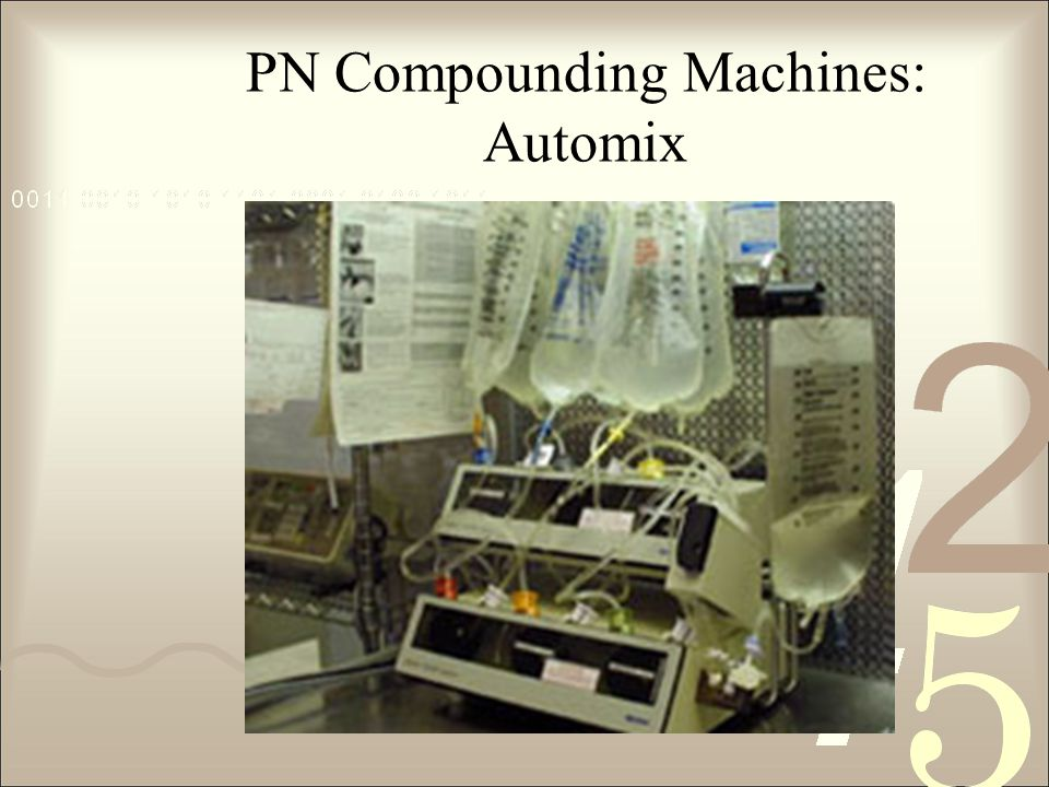 PN Compounding Machines: Automix