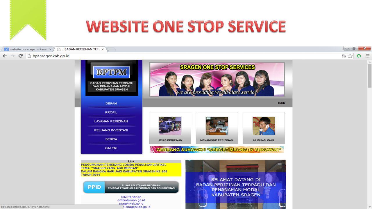 WEBSITE ONE STOP SERVICE