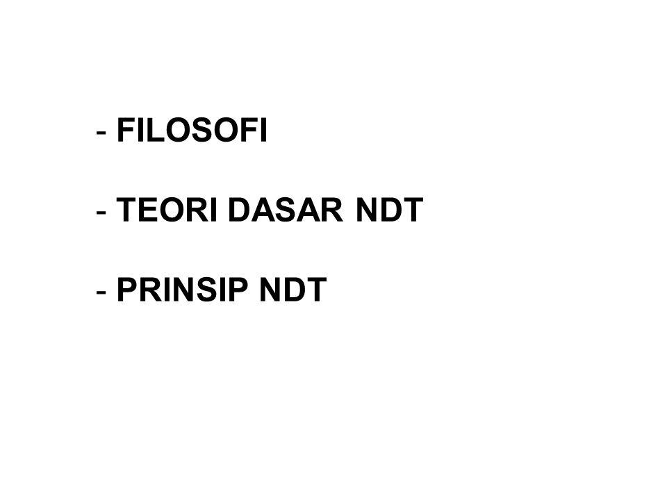FILOSOFI TEORI DASAR NDT PRINSIP NDT