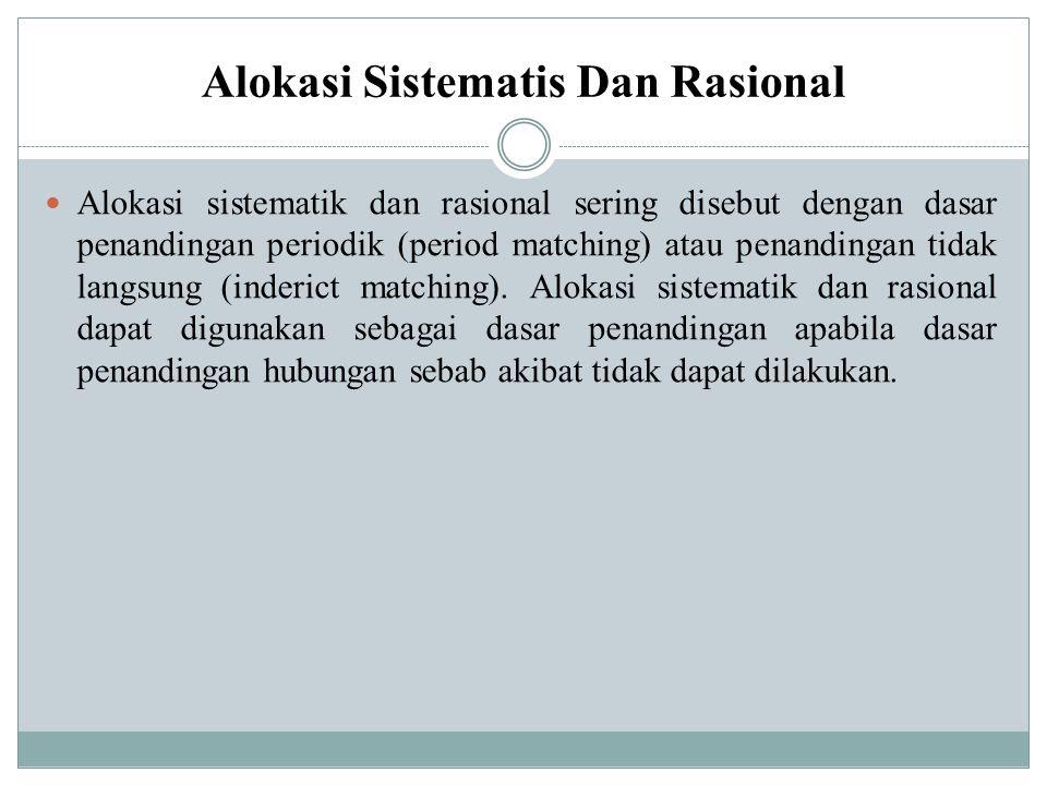 Alokasi Sistematis Dan Rasional