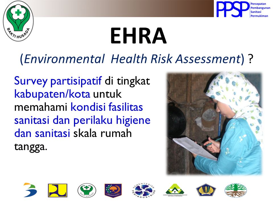 EHRA (Environmental Health Risk Assessment)