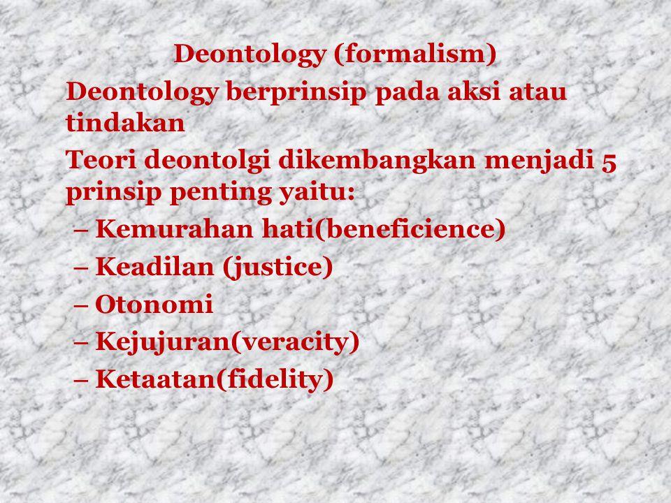 Deontology (formalism)