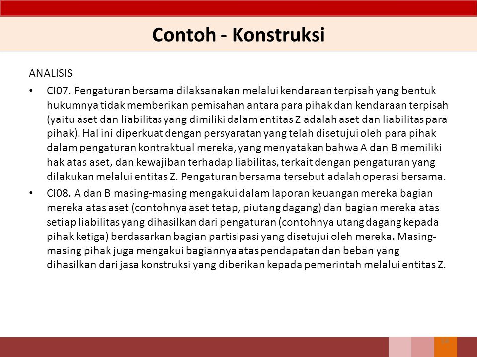 Contoh - Konstruksi ANALISIS