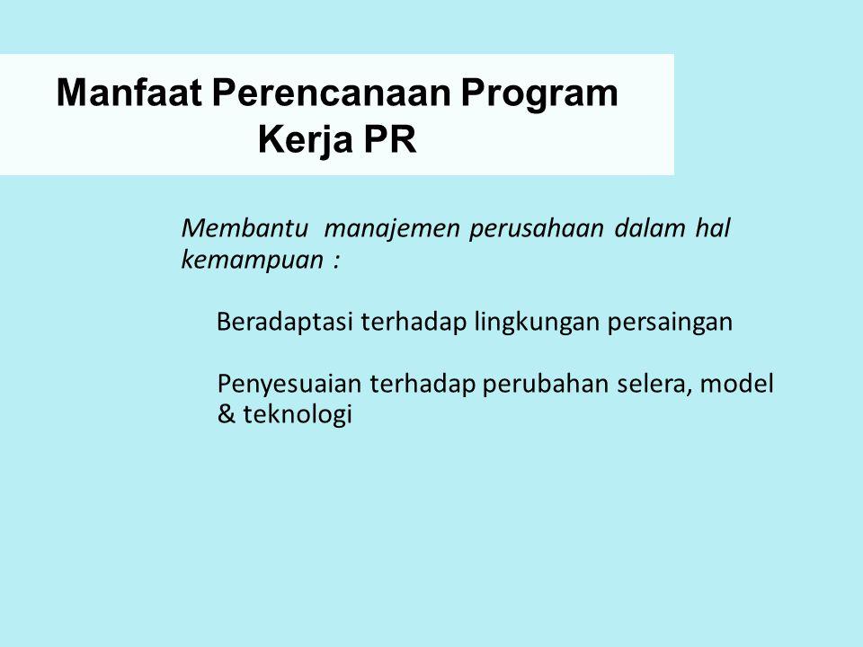 Manfaat Perencanaan Program Kerja PR