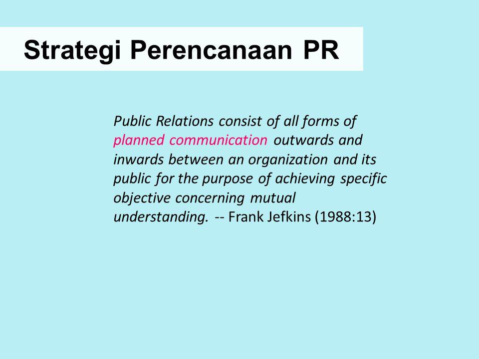 Strategi Perencanaan PR