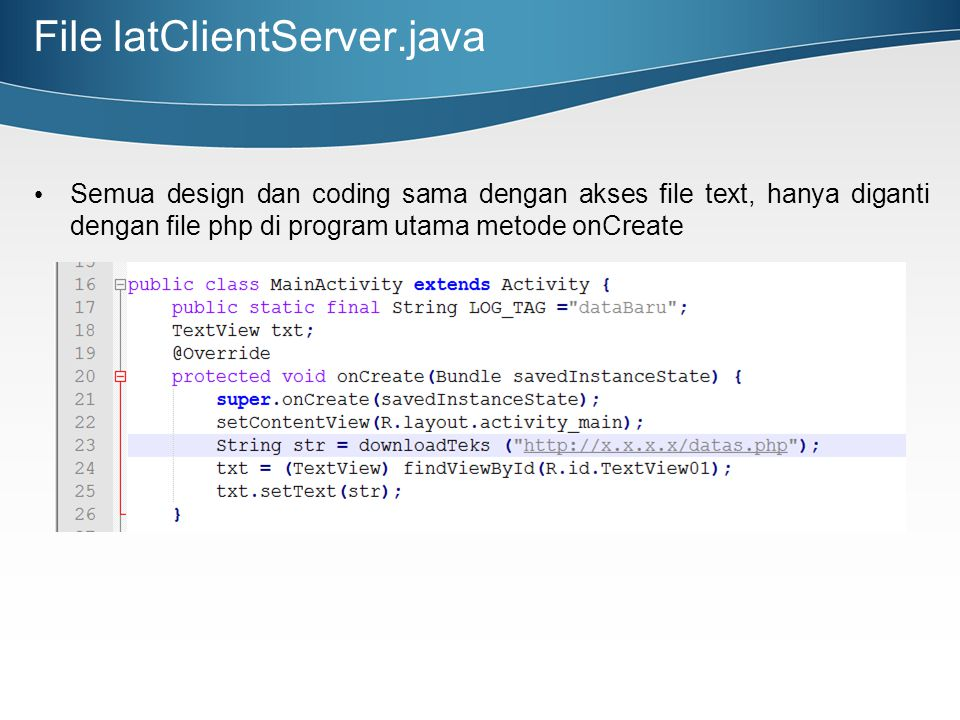 File latClientServer.java