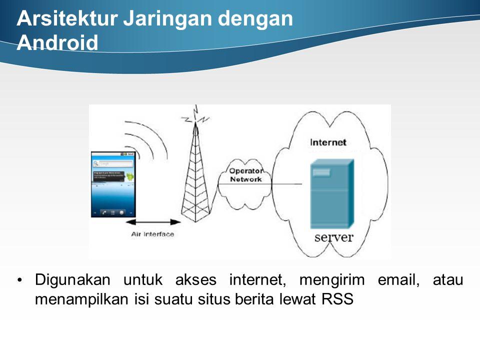 Arsitektur Jaringan dengan Android