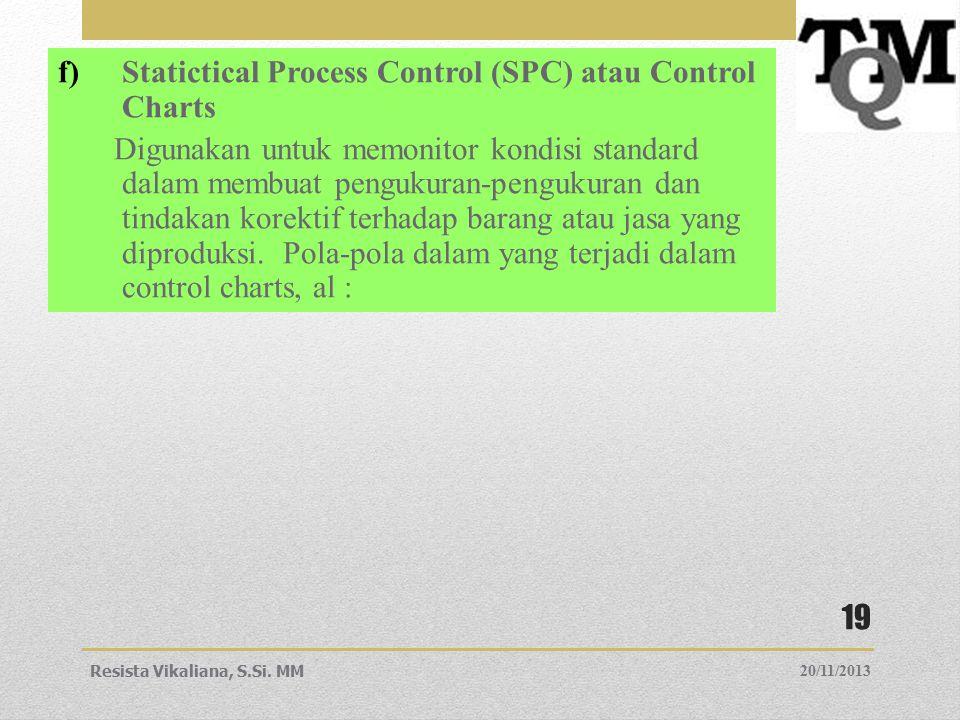 Statictical Process Control (SPC) atau Control Charts