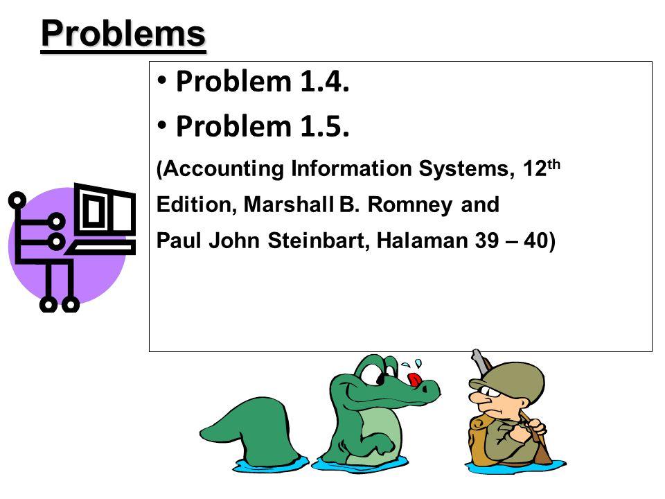 Problems Problem 1.4. Problem 1.5.