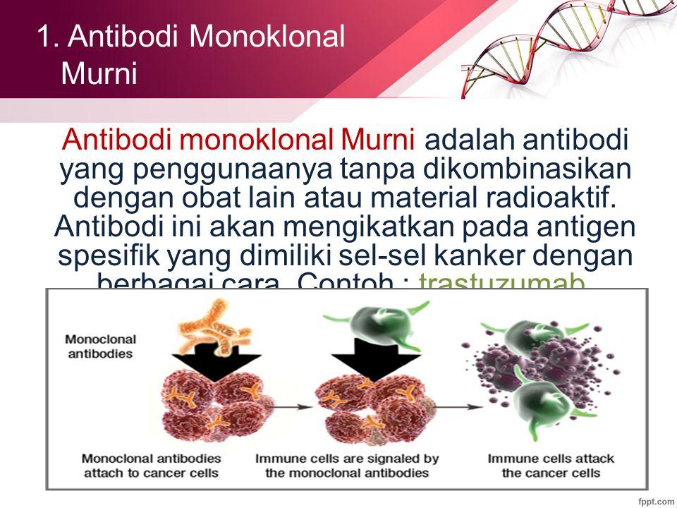 1. Antibodi Monoklonal Murni
