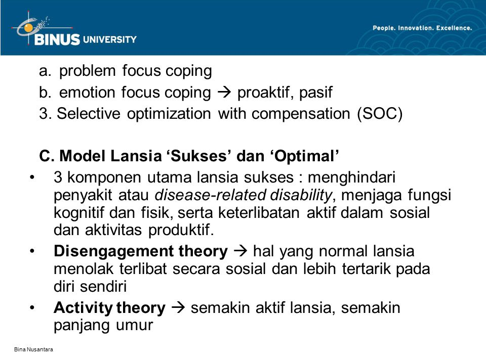 emotion focus coping  proaktif, pasif