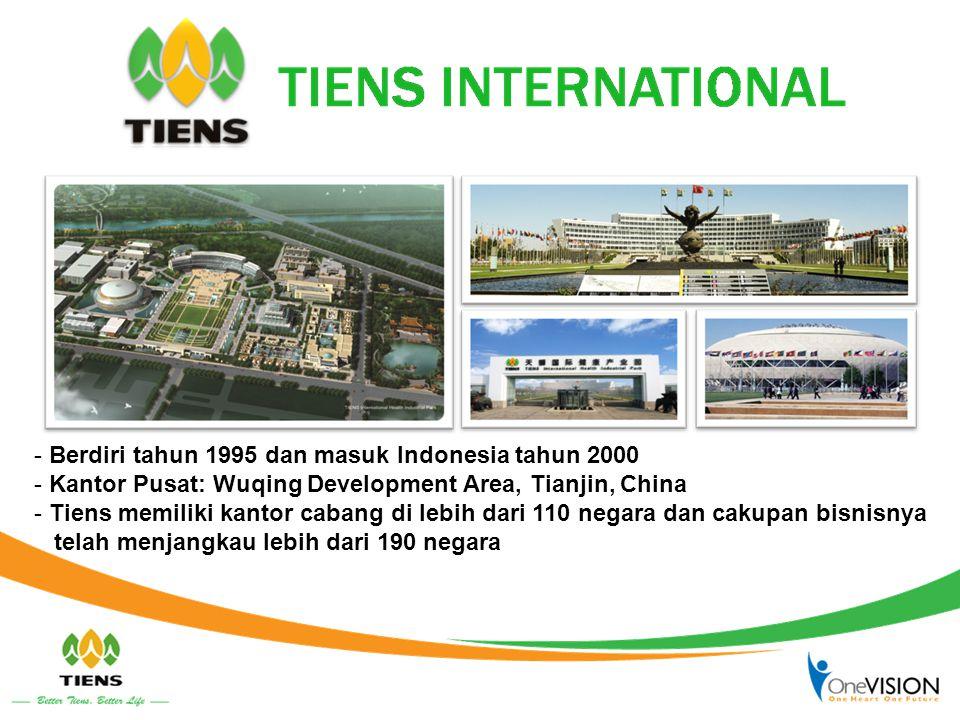 Berdiri tahun 1995 dan masuk Indonesia tahun 2000