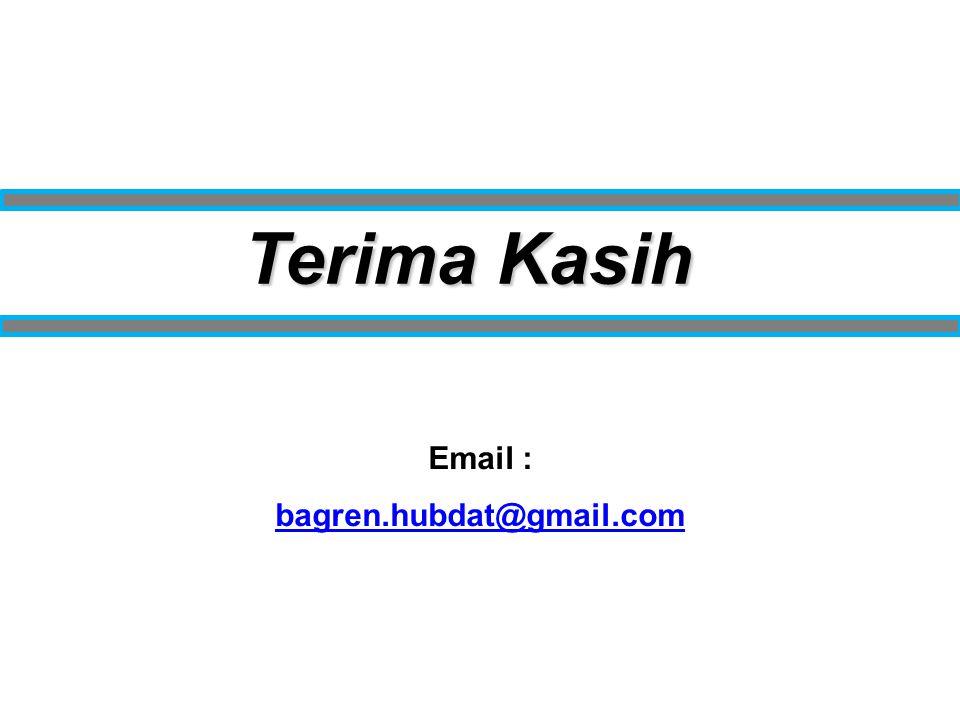 Terima Kasih Email : bagren.hubdat@gmail.com
