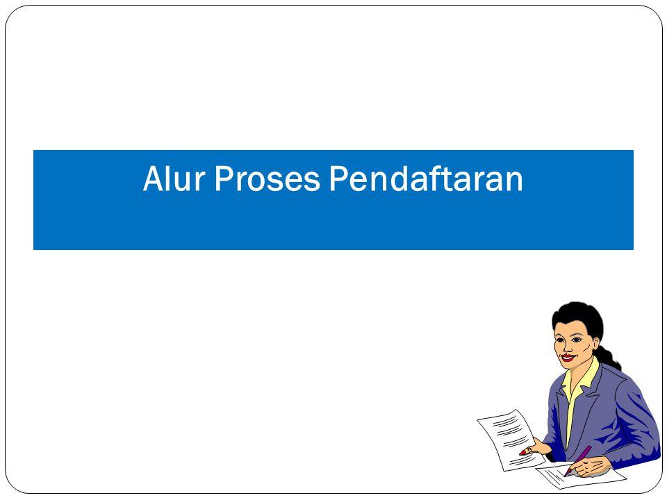 Alur Proses Pendaftaran