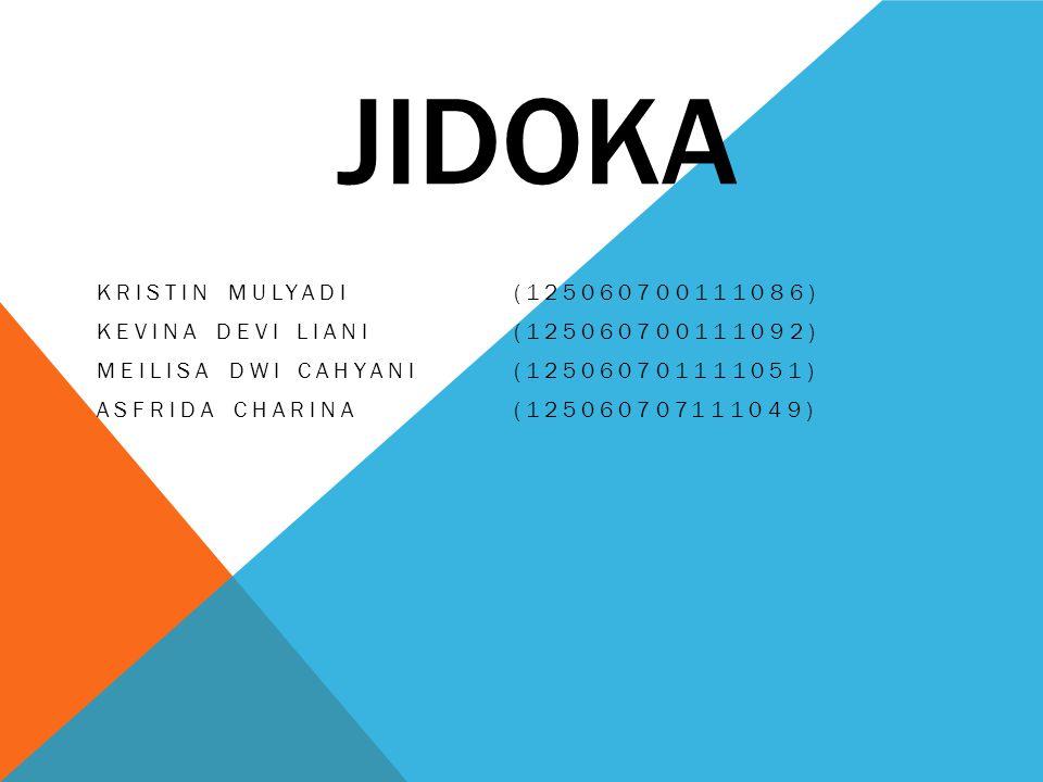 JIDOKA Kristin Mulyadi (125060700111086)