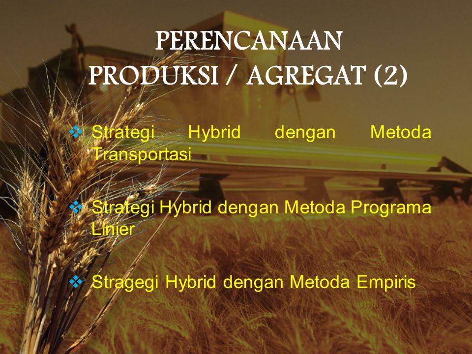 PERENCANAAN PRODUKSI / AGREGAT (2)