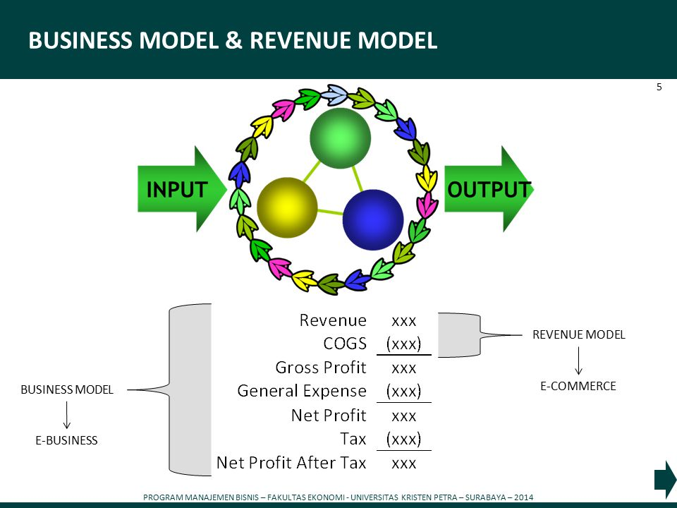BUSINESS MODEL & REVENUE MODEL