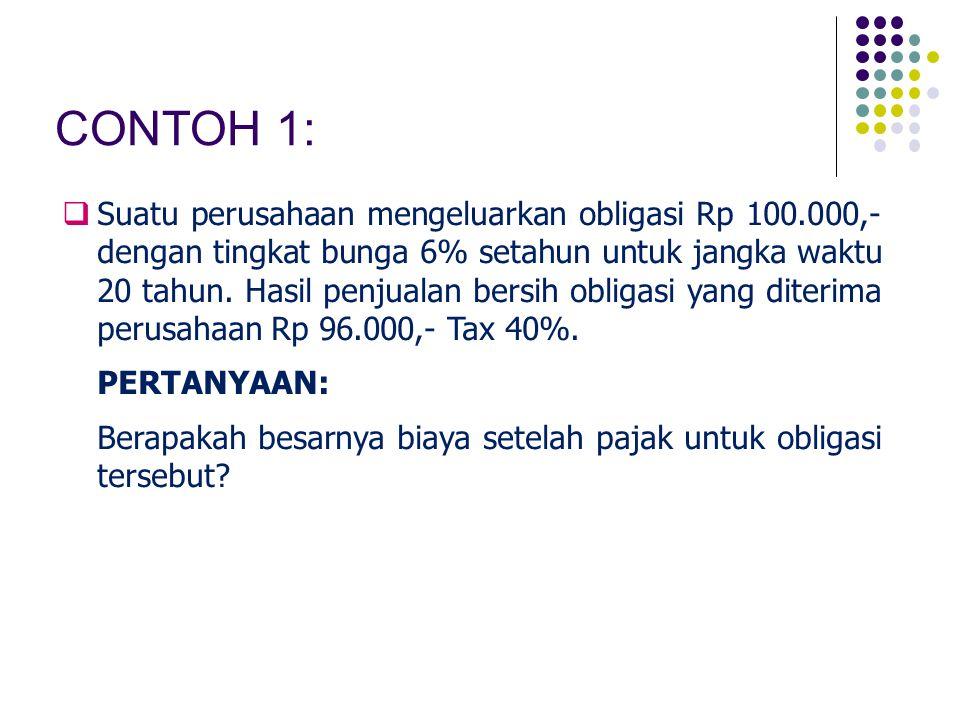 CONTOH 1: