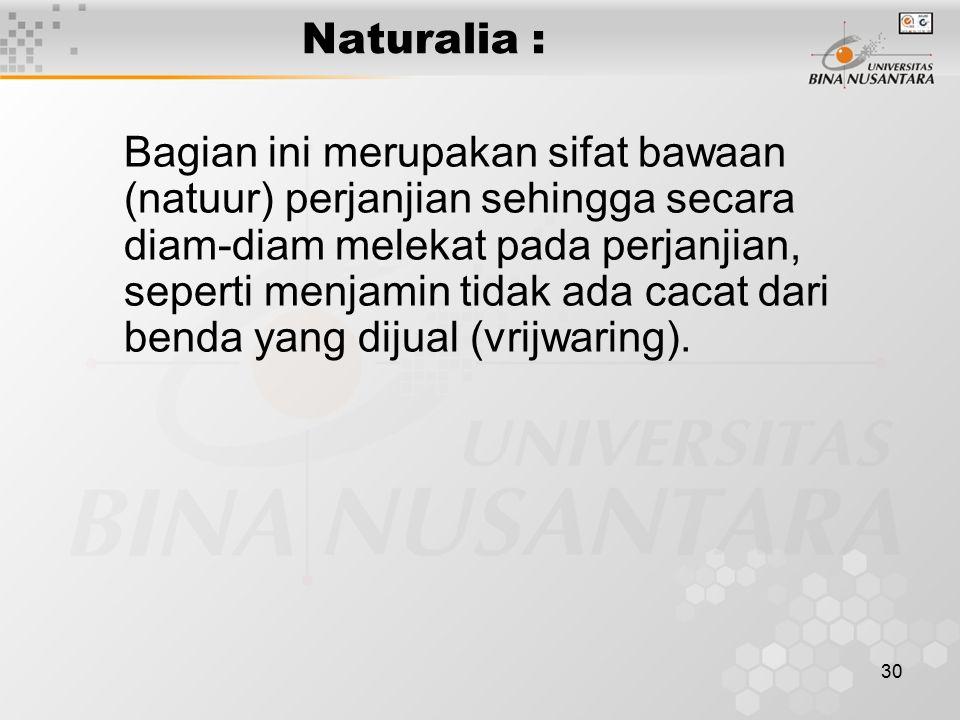 Naturalia :