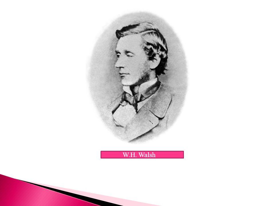 W.H. Walsh
