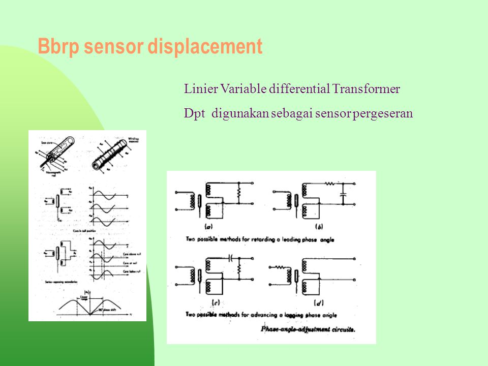 Bbrp sensor displacement