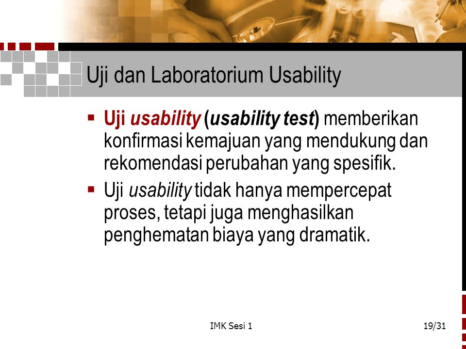 Uji dan Laboratorium Usability