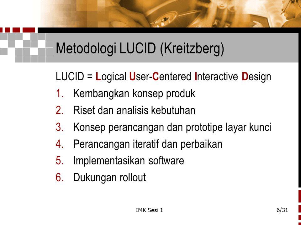 Metodologi LUCID (Kreitzberg)