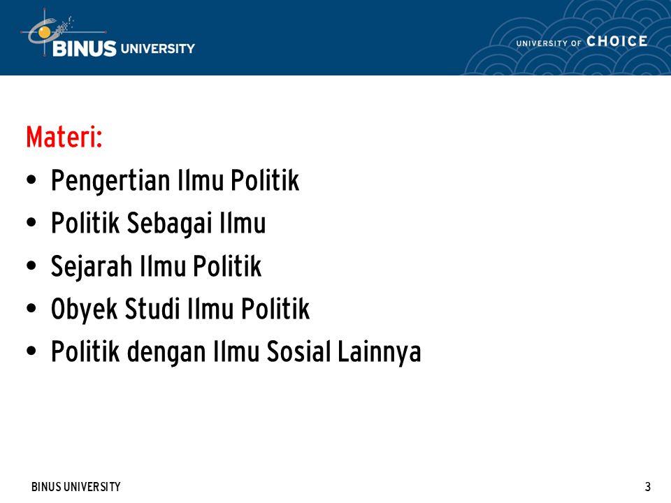 Pengertian Ilmu Politik Politik Sebagai Ilmu Sejarah Ilmu Politik