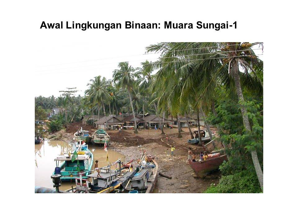 Awal Lingkungan Binaan: Muara Sungai-1