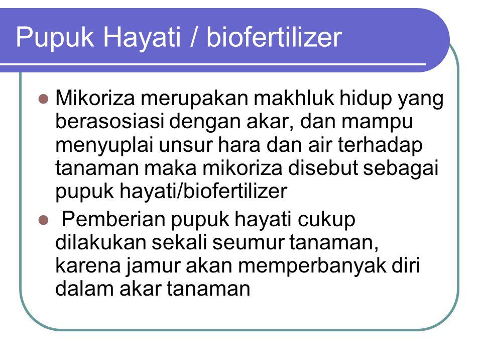 Pupuk Hayati / biofertilizer
