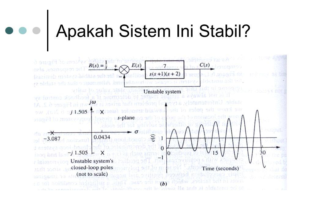Apakah Sistem Ini Stabil