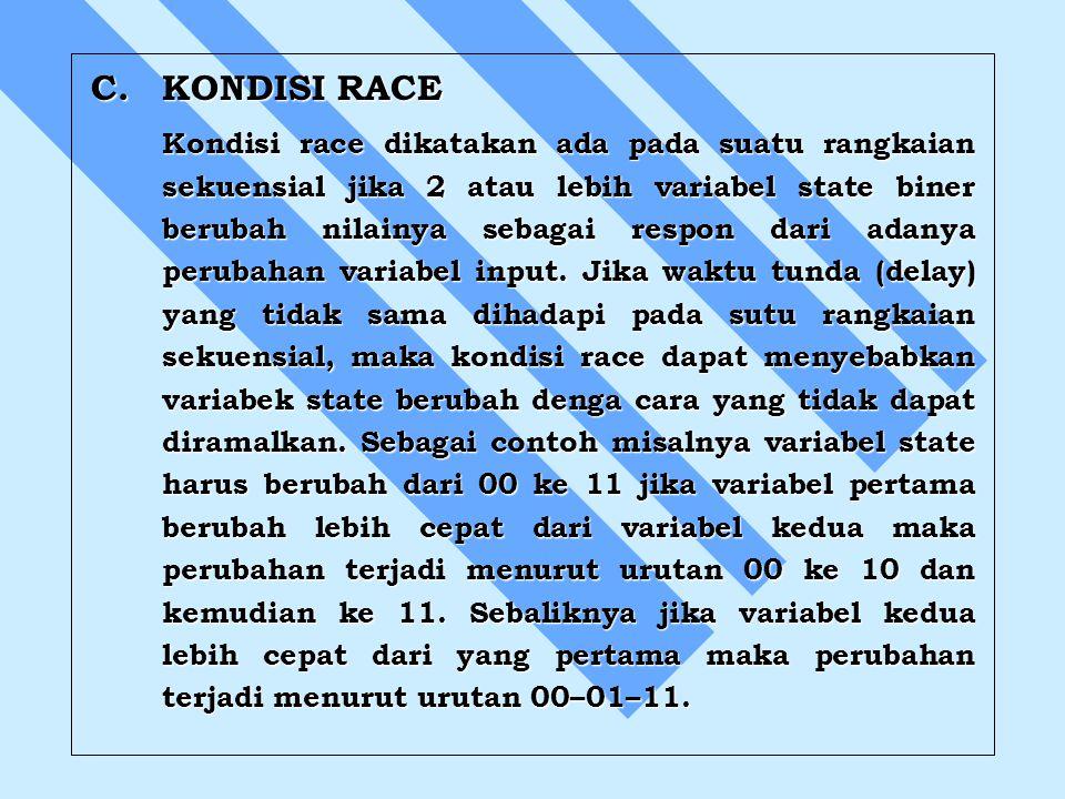 C. KONDISI RACE