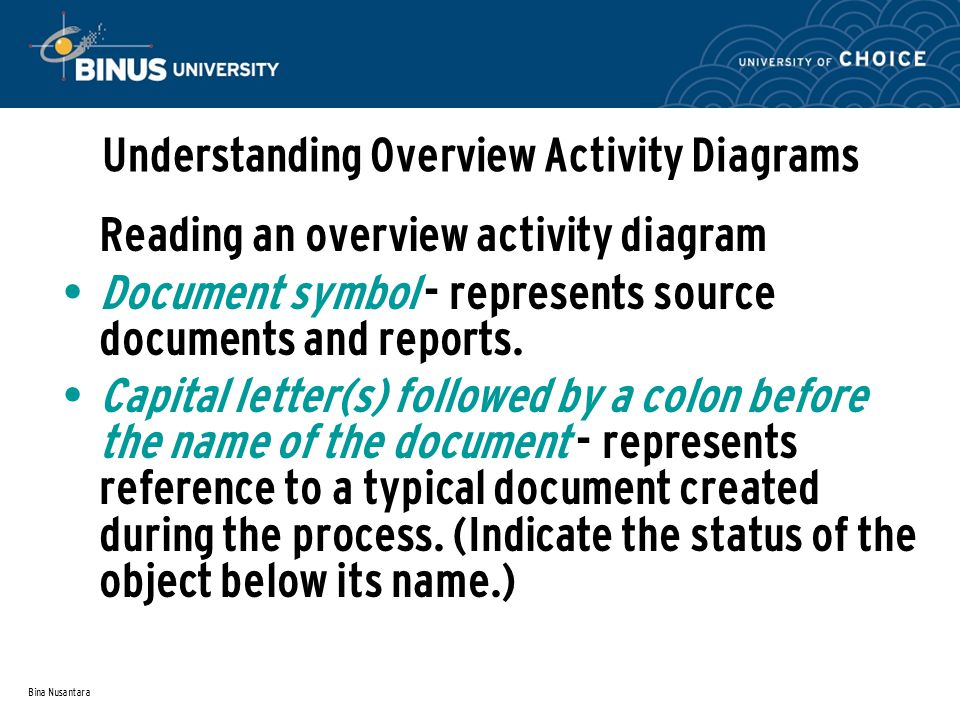 Understanding Overview Activity Diagrams