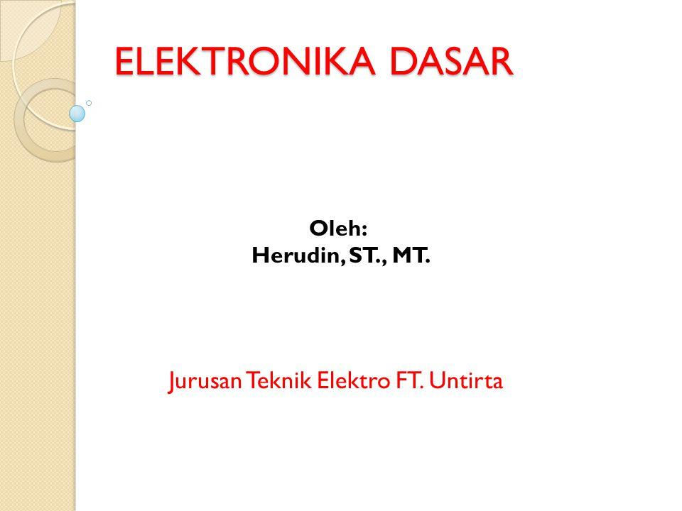 Jurusan Teknik Elektro FT. Untirta